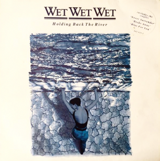 Wet Wet Wet ‎- Holding Back The River (LP) (VG-/VG-)